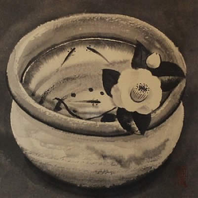 Japanese Ceramic or Porcelain paintings and prints by Akira AKIZUKI