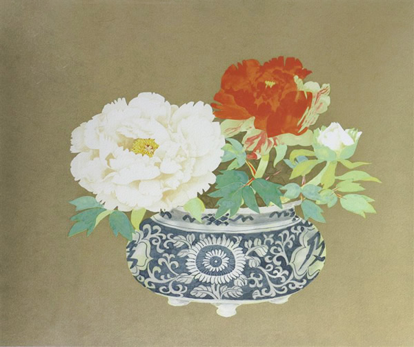Japanese Ceramic or Porcelain paintings and prints by Fumiko HORI