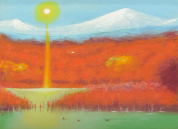 Japanese Sun paintings and prints by Genso OKUDA