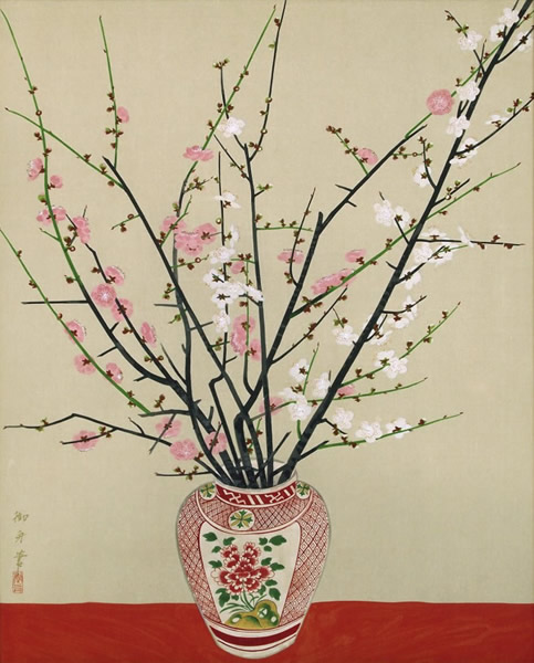 Japanese Ceramic or Porcelain paintings and prints by Gyoshu HAYAMI