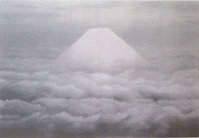 Japanese Fuji paintings and prints by Kaii HIGASHIYAMA