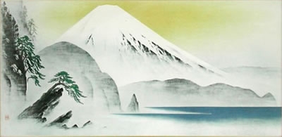 Japanese Sea or Ocean paintings and prints by Katashi OYAMA