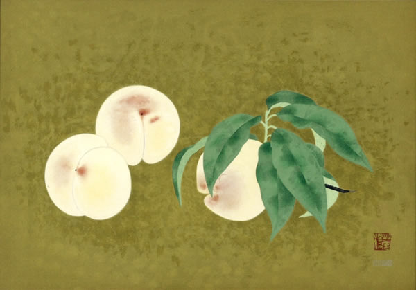 Japanese Fruit paintings and prints by Kayo YAMAGUCHI