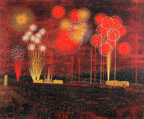 Japanese Summer paintings and prints by Kiyoshi YAMASHITA