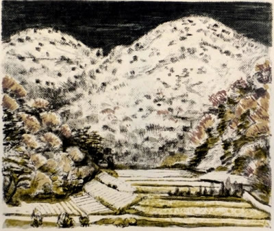 Japanese Field paintings and prints by Kyujin YAMAMOTO