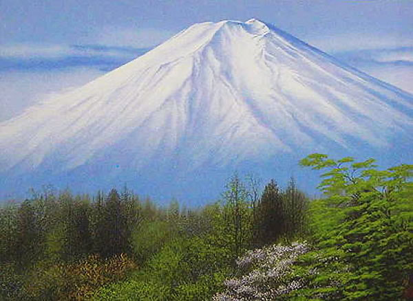 Japanese Fuji paintings and prints by Nori SHIMIZU
