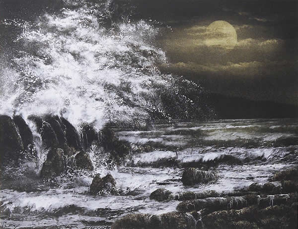 Japanese Sea or Ocean paintings and prints by Nori SHIMIZU
