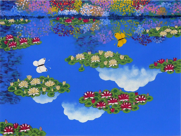 Japanese Butterfly or Moth paintings and prints by Reiji HIRAMATSU