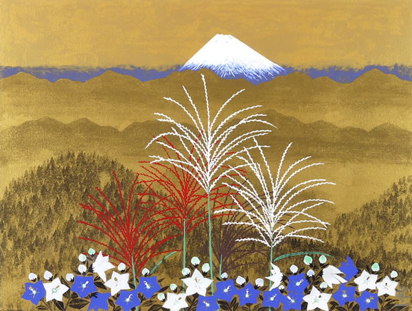Japanese Floral or Flower paintings and prints by Reiji HIRAMATSU