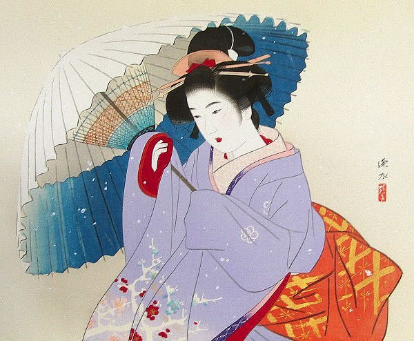 Japanese Snow paintings and prints by Shinsui ITO