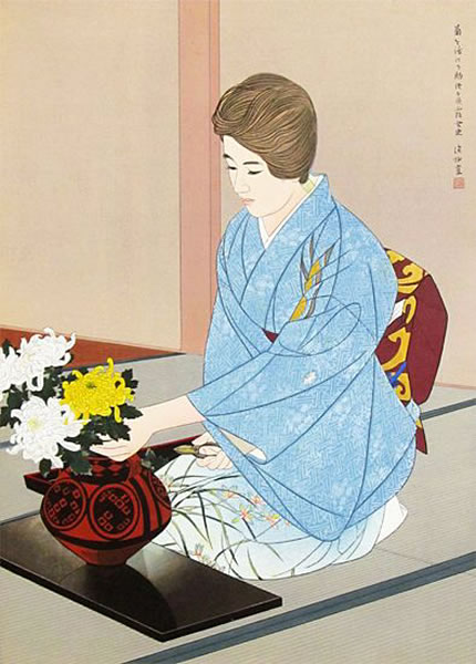 Japanese Kimono paintings and prints by Shinsui ITO