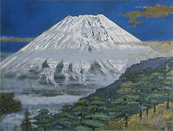 Japanese Fuji paintings and prints by Sumio GOTO