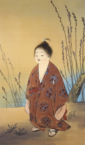 Japanese Child paintings and prints by Taikan YOKOYAMA