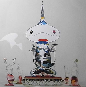 Japanese Figure paintings and prints by Takashi MURAKAMI