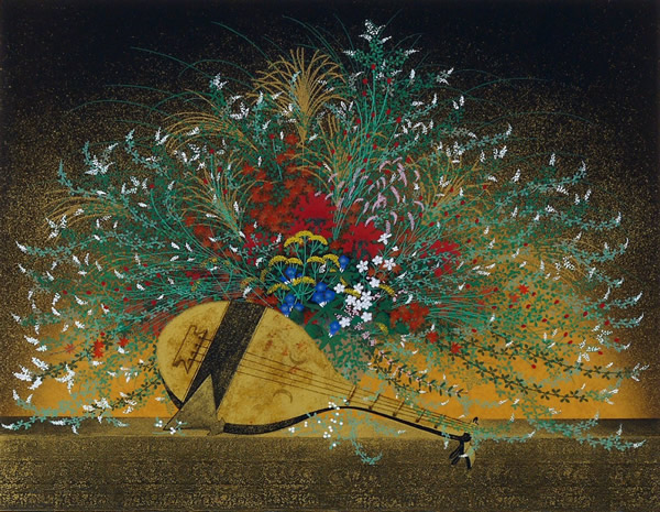 Japanese Floral or Flower paintings and prints by Tatsuya ISHIODORI