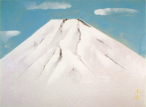 Japanese Fuji paintings and prints by Togyu OKUMURA