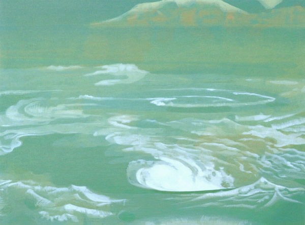 Japanese Sea or Ocean paintings and prints by Togyu OKUMURA