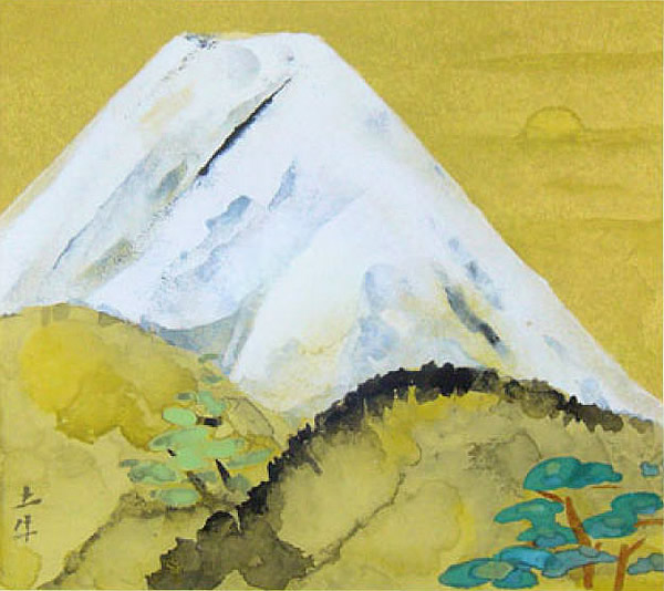 Japanese Sun paintings and prints by Togyu OKUMURA