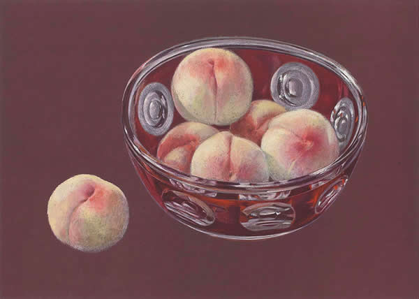 Japanese Fruit paintings and prints by Yasushi SUGIYAMA