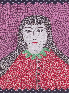 Japanese Portrait paintings and prints by Yayoi KUSAMA