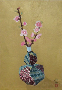 Japanese Spring paintings and prints by Yuki OGURA