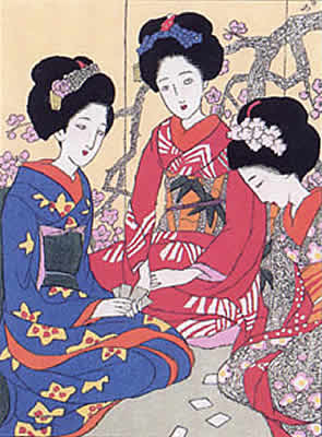 Japanese Plum Blossom paintings and prints by Yumeji TAKEHISA