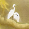 Japanese Egret paintings and prints